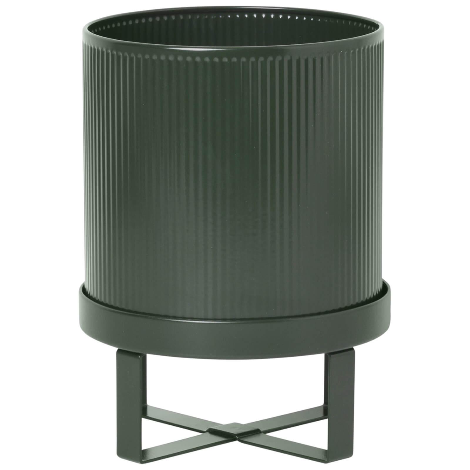 Ferm Living Bau Pot - Small - Dark Green