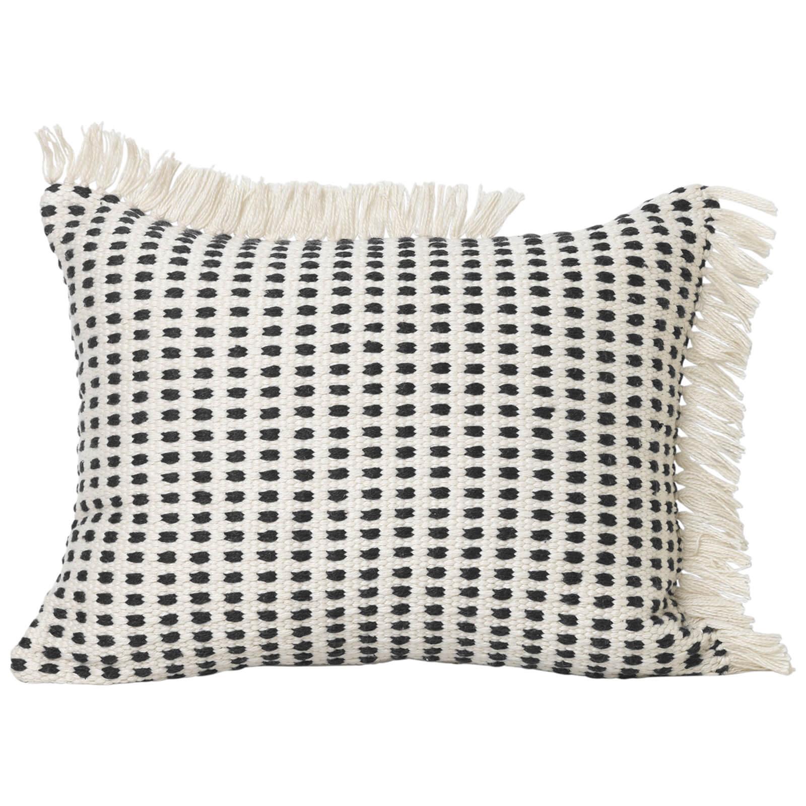 Ferm Living Way Outdoor 70cm x 50cm Cushion - White/Black