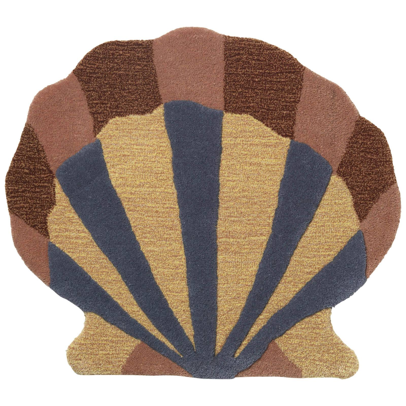 Ferm Living Kids' Shell Tufted Wall/Floor Decoration