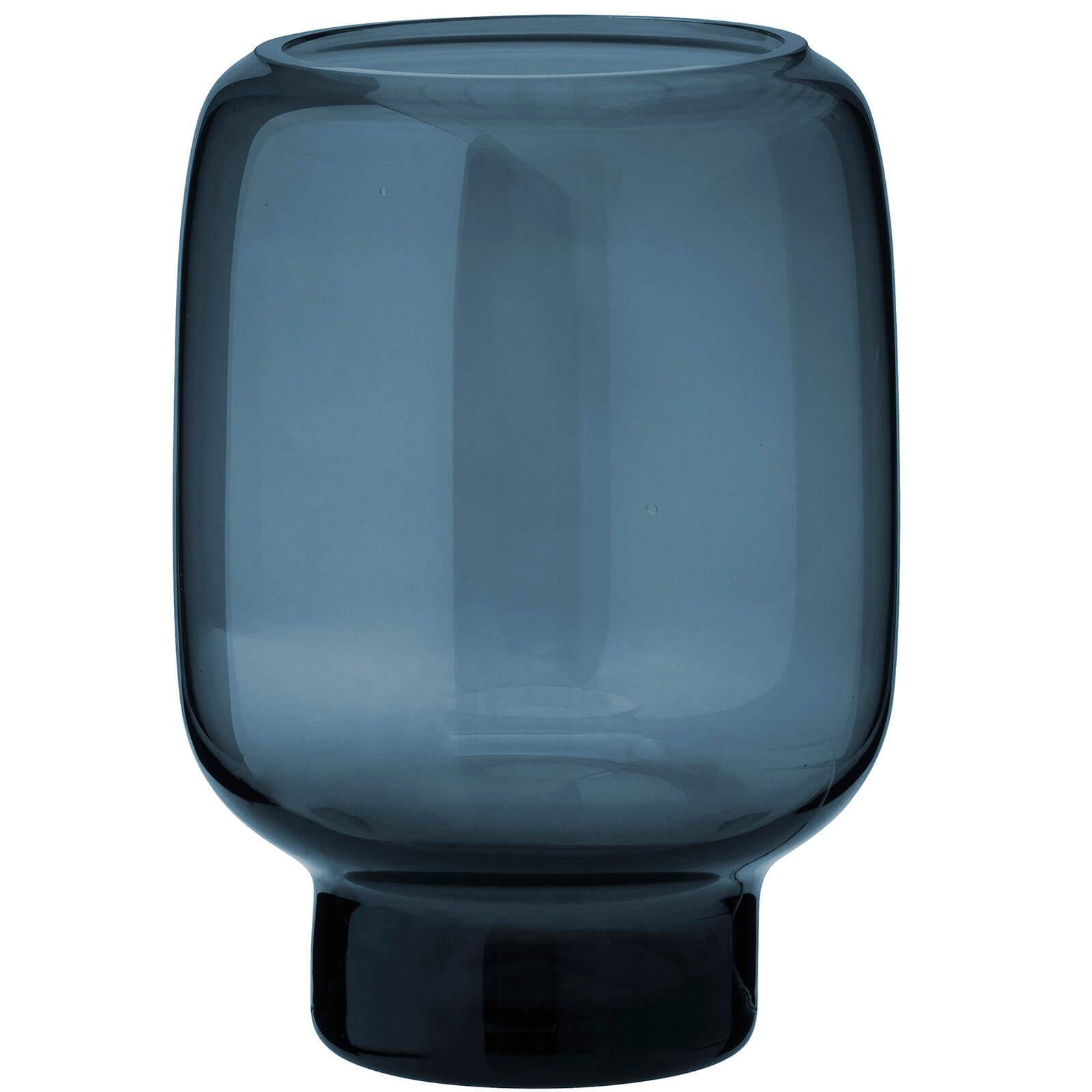 Stelton Small Hoop Vase - 14cm - Midnight Blue