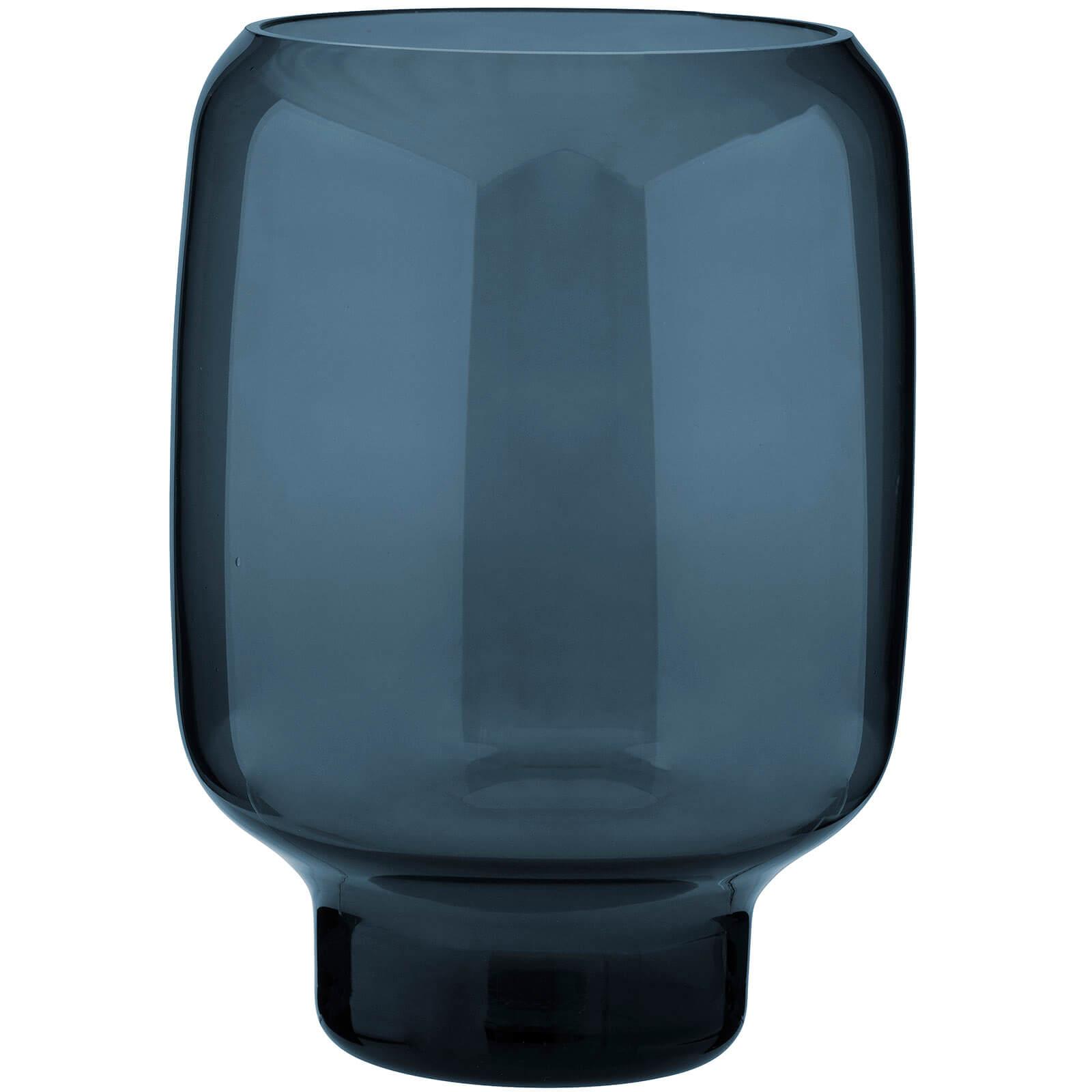 Stelton Small Hoop Vase - 20cm - Midnight Blue