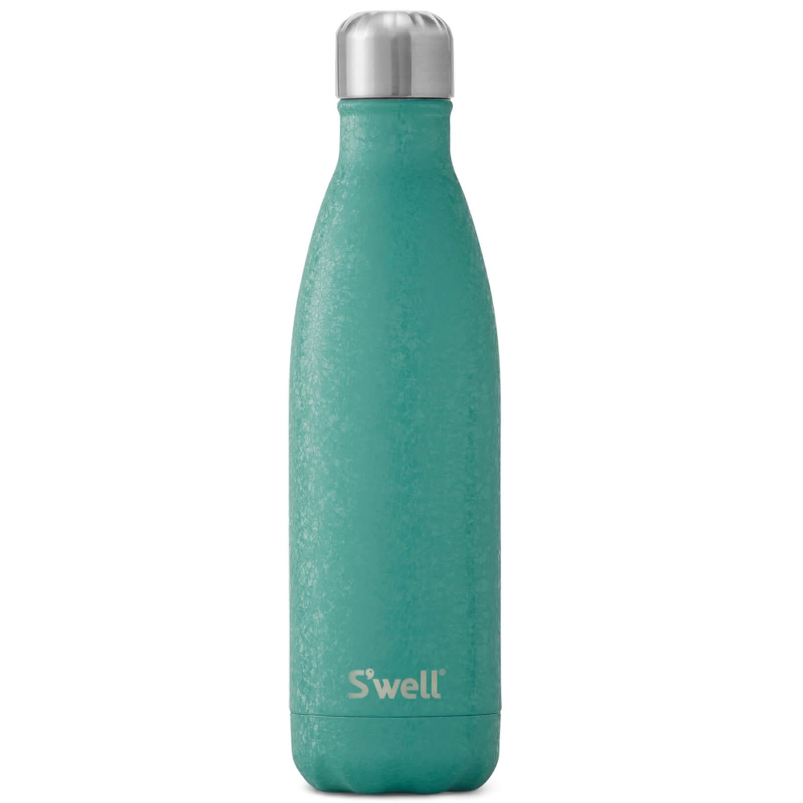 S'well Carbon Montana Blue Water Bottle - 500ml