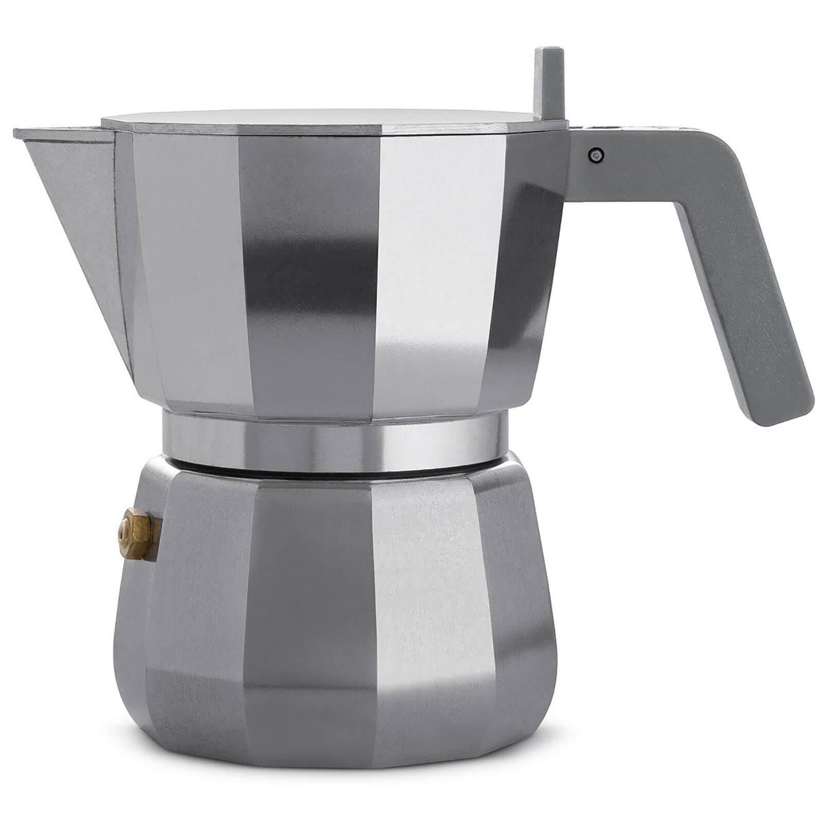 Alessi David Chipperfield 3 Cup Moka Espresso Maker
