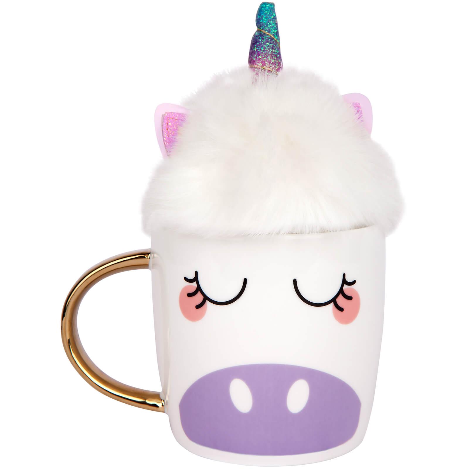 Sunnylife Fluffy Mugset Unicorn