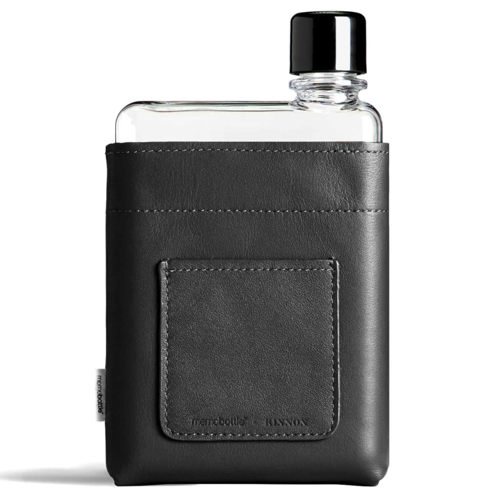 Memobottle A6 Vegan Leather Sleeve - Black