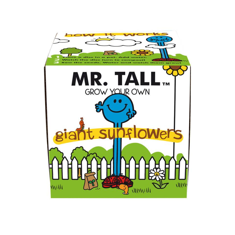Gift Republic NEW Mr Tall Grow Your Own Giant Sunflowers
