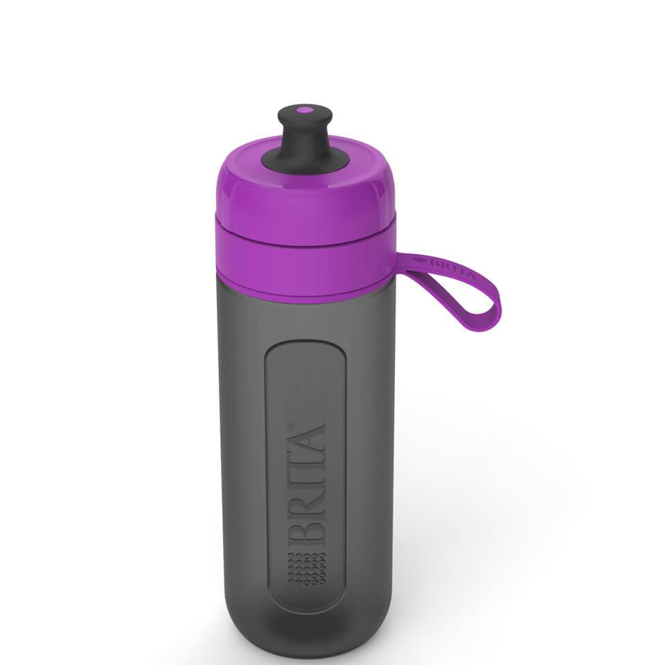Brita Fill & Go Active Water Bottle - Purple (0.6L)