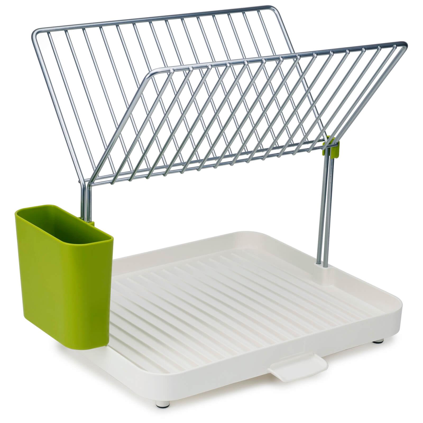 Joseph Joseph Y-Rack Dish Drainer - White/Green