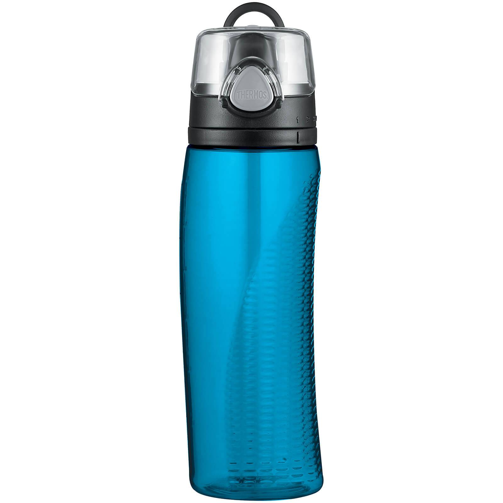 Thermos Hydration Bottle with Meter - Teal 710ml