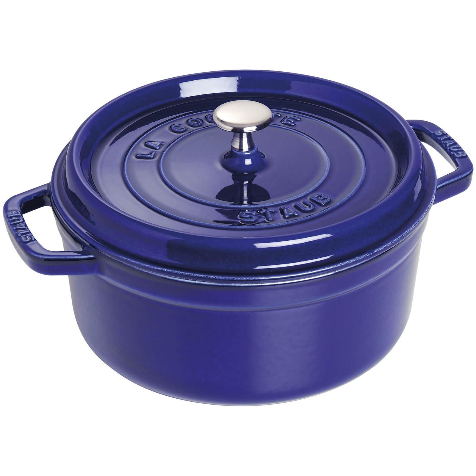 Staub Round Cocotte - Dark Blue - 24cm