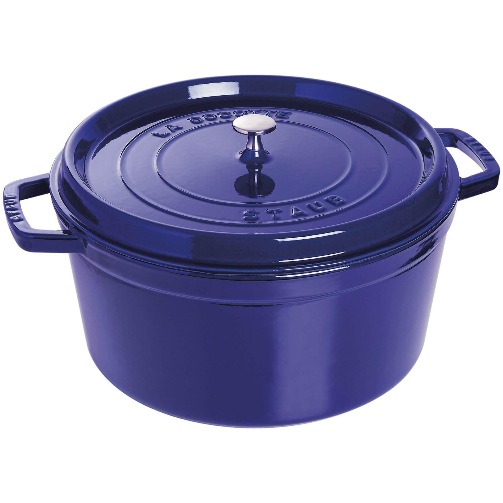 Staub Round Cocotte - Dark Blue - 30cm