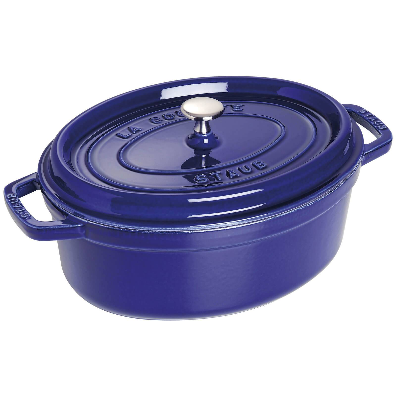 Staub Oval Cocotte - Dark Blue - 29cm