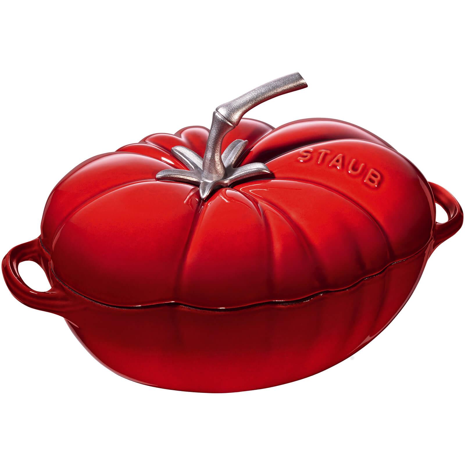 Staub Oval Tomato Cocotte - Cherry - 25cm