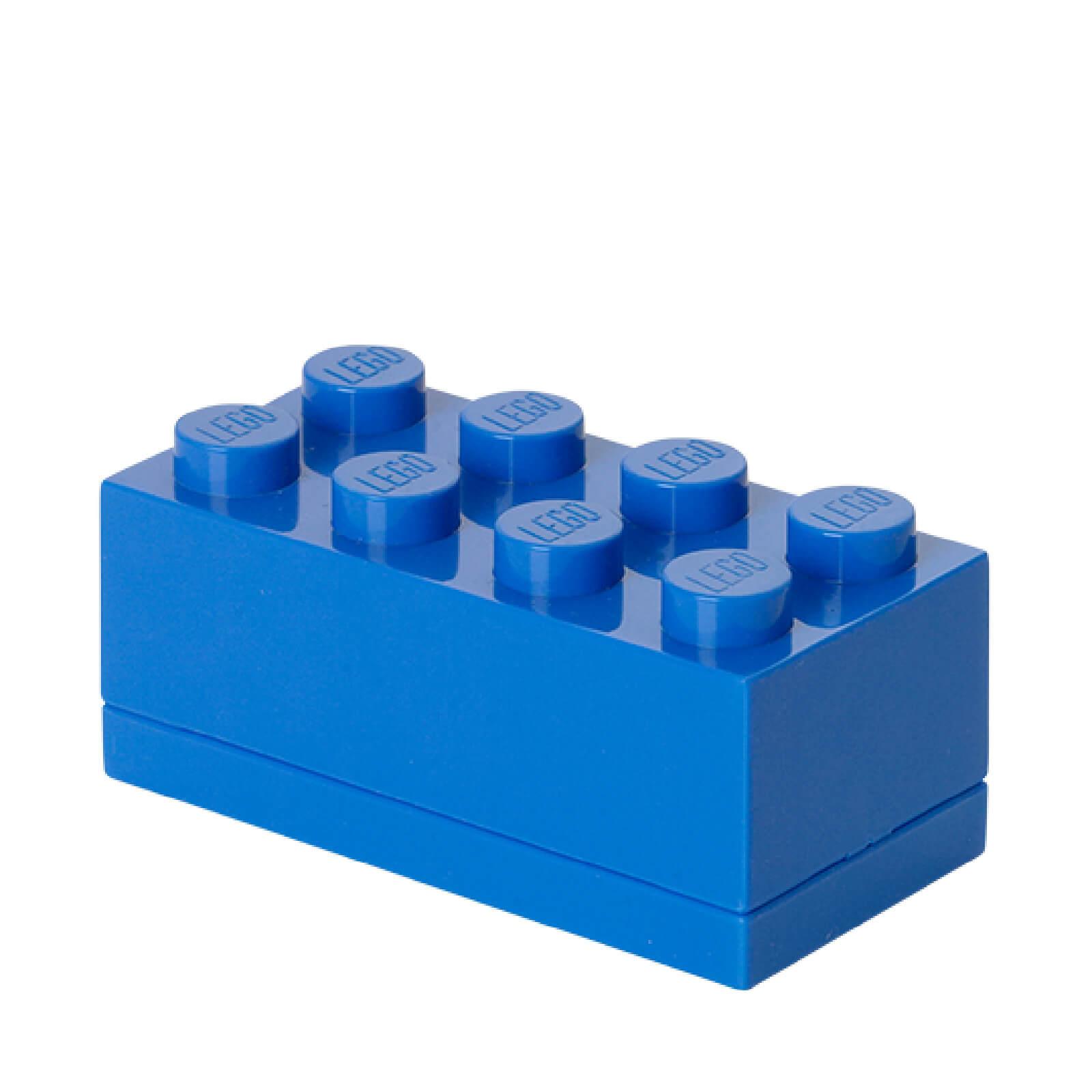 Lego Mini Box 8 - Bright Blue