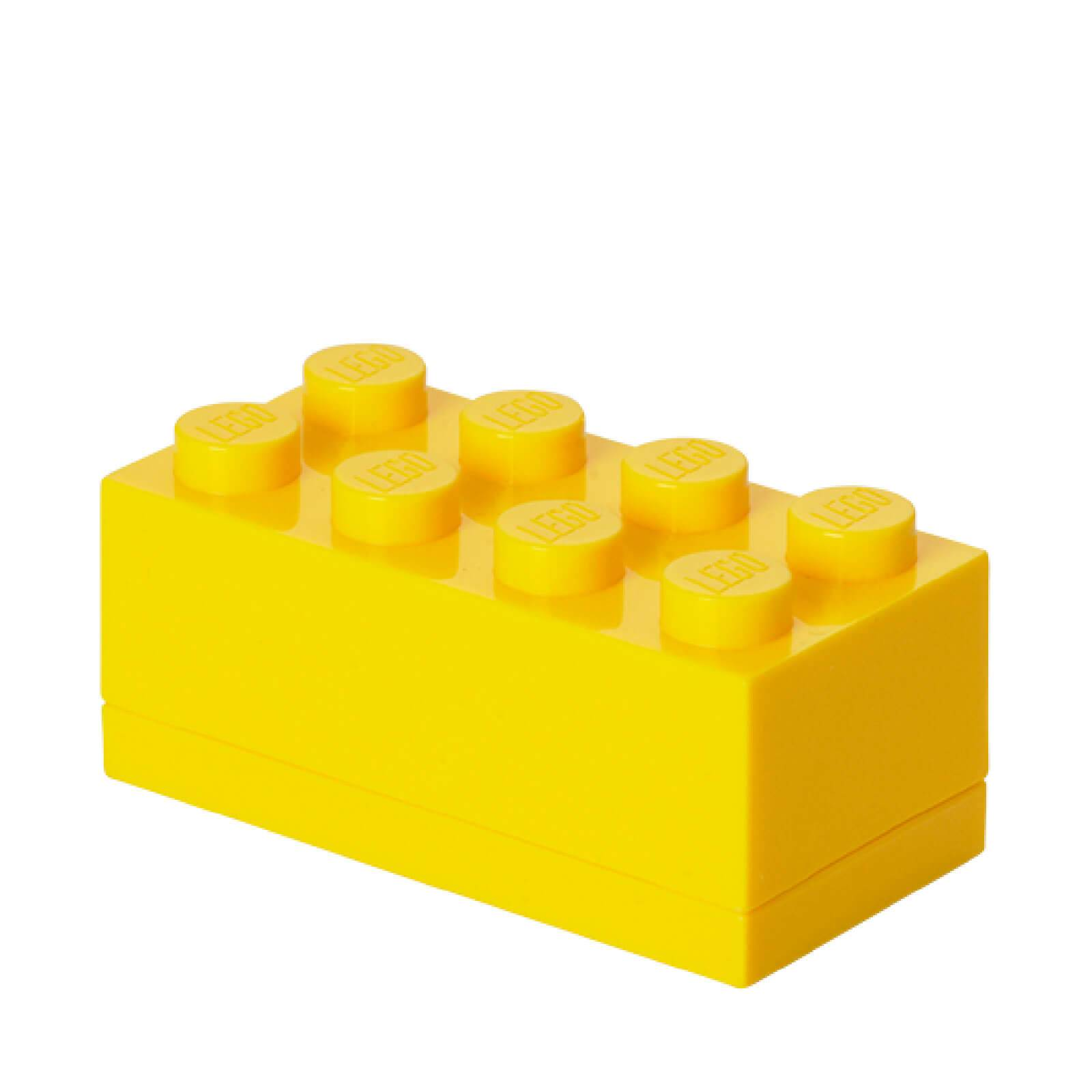 Lego Mini Box 8 - Bright Yellow