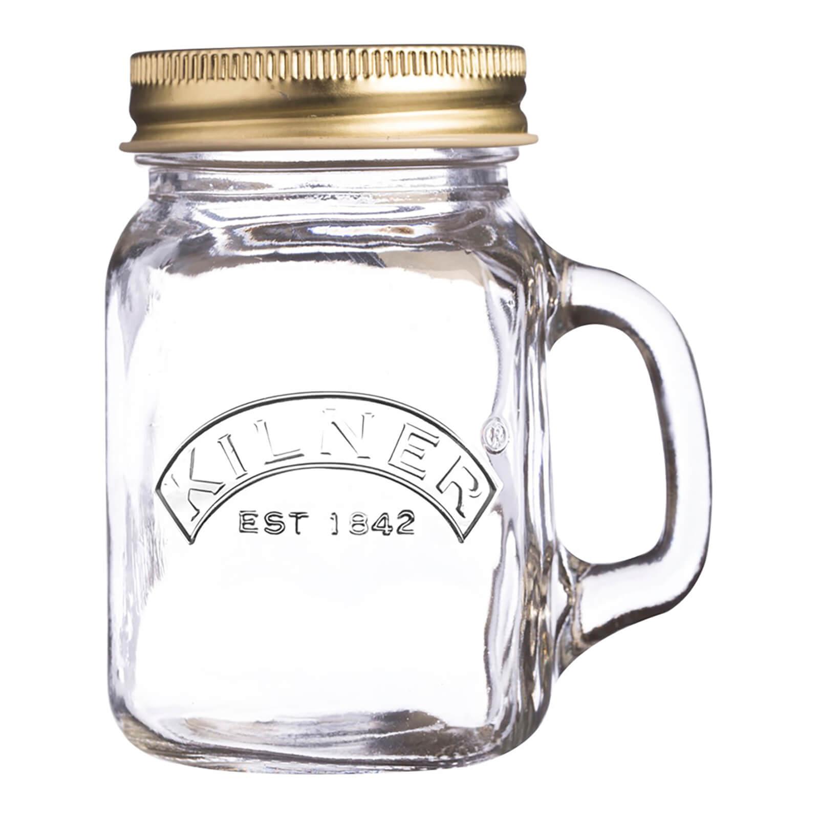 Kilner Mini Handled Jar - 140ml - Set of 12