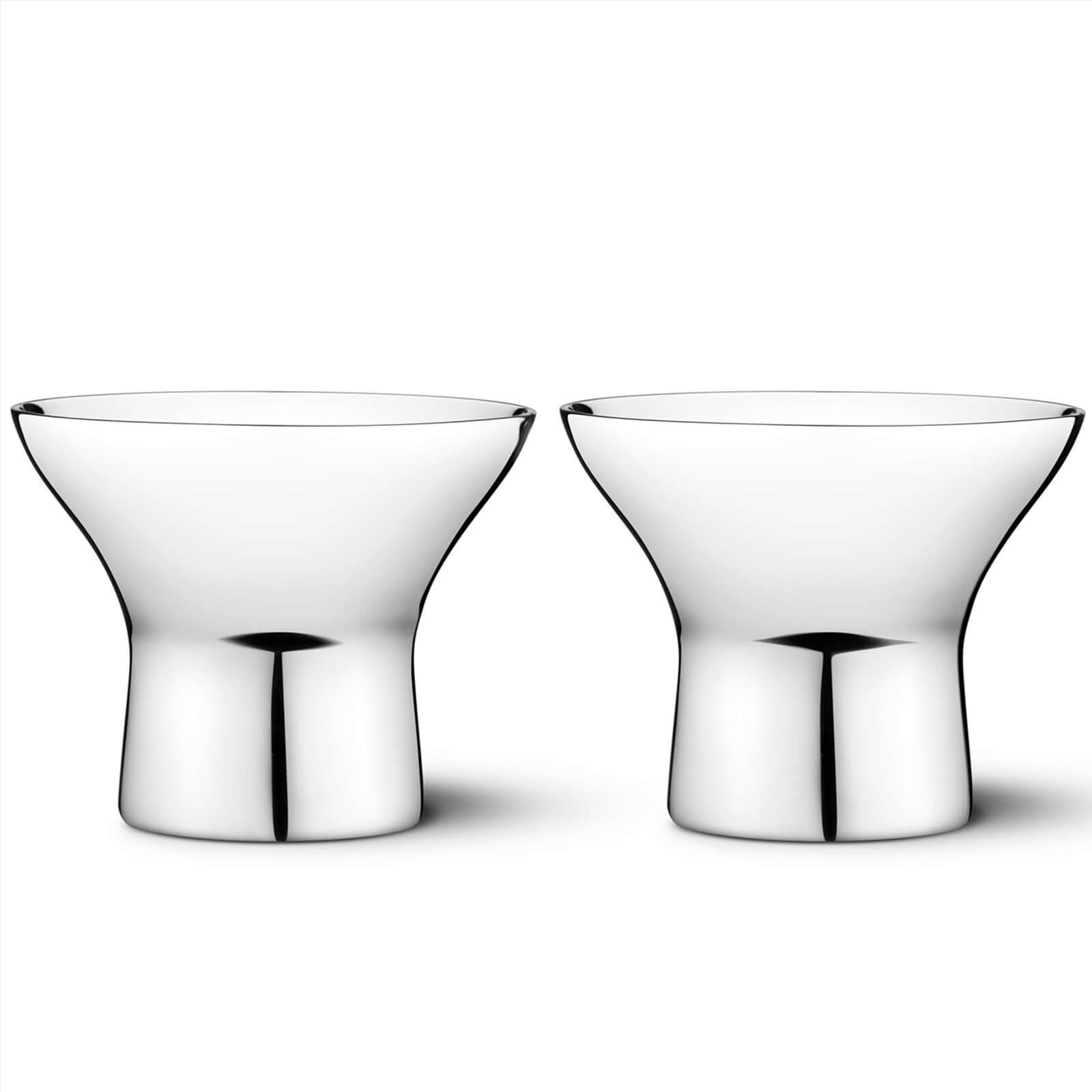 Jensen Georg Jensen Alfredoredo Egg Cups - Set of 2