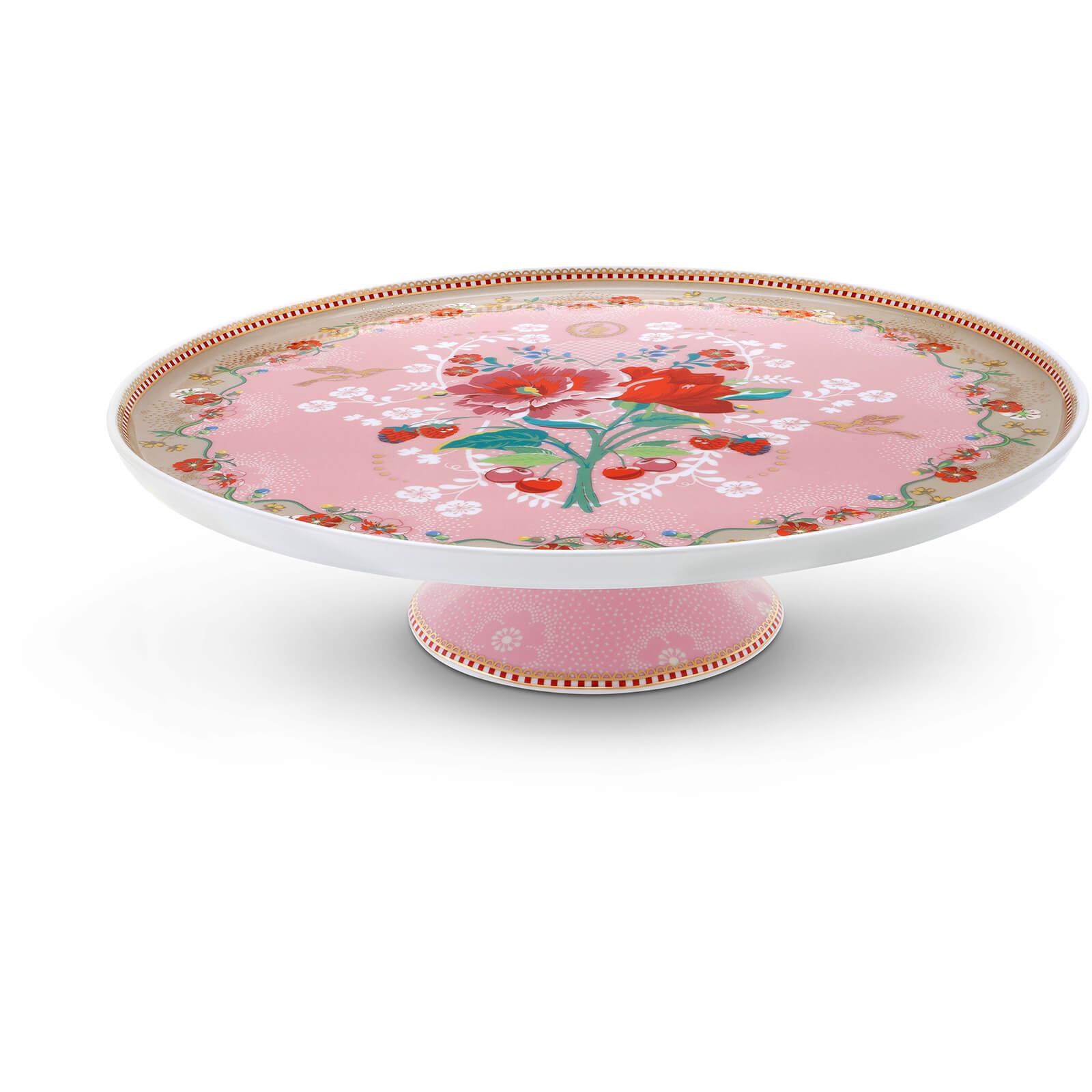 Pip Studio Rose Cake Tray - Pink