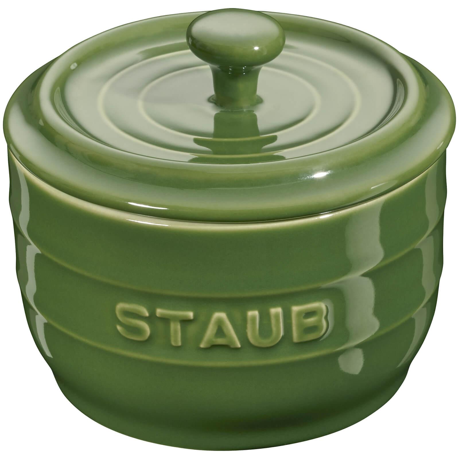 Staub Ceramic Round Salt Crock - Basil