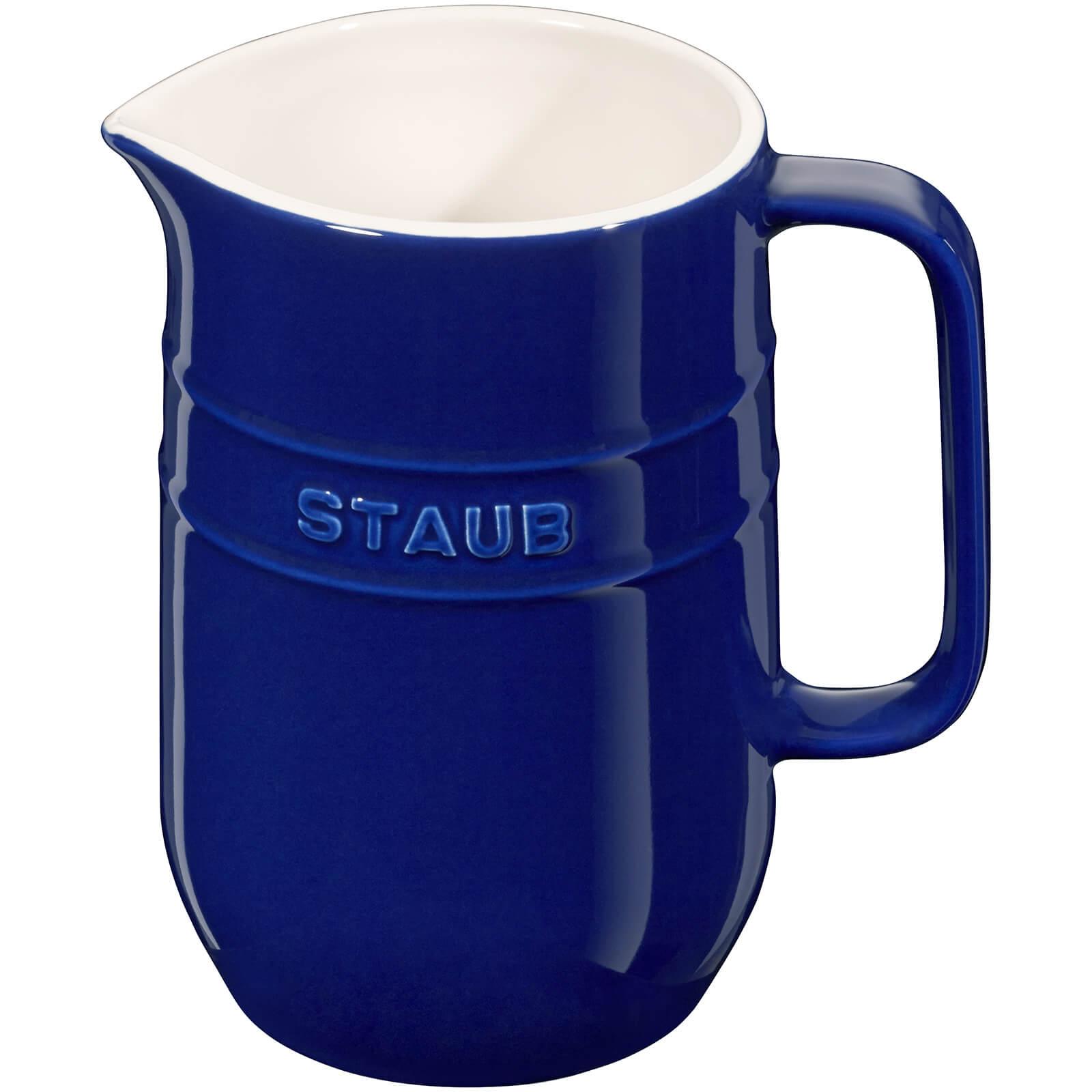 Staub Ceramic Round Pitcher - Dark Blue