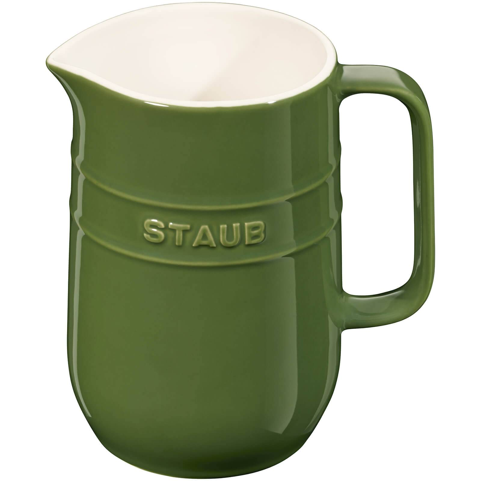 Staub Ceramic Round Pitcher - Basil