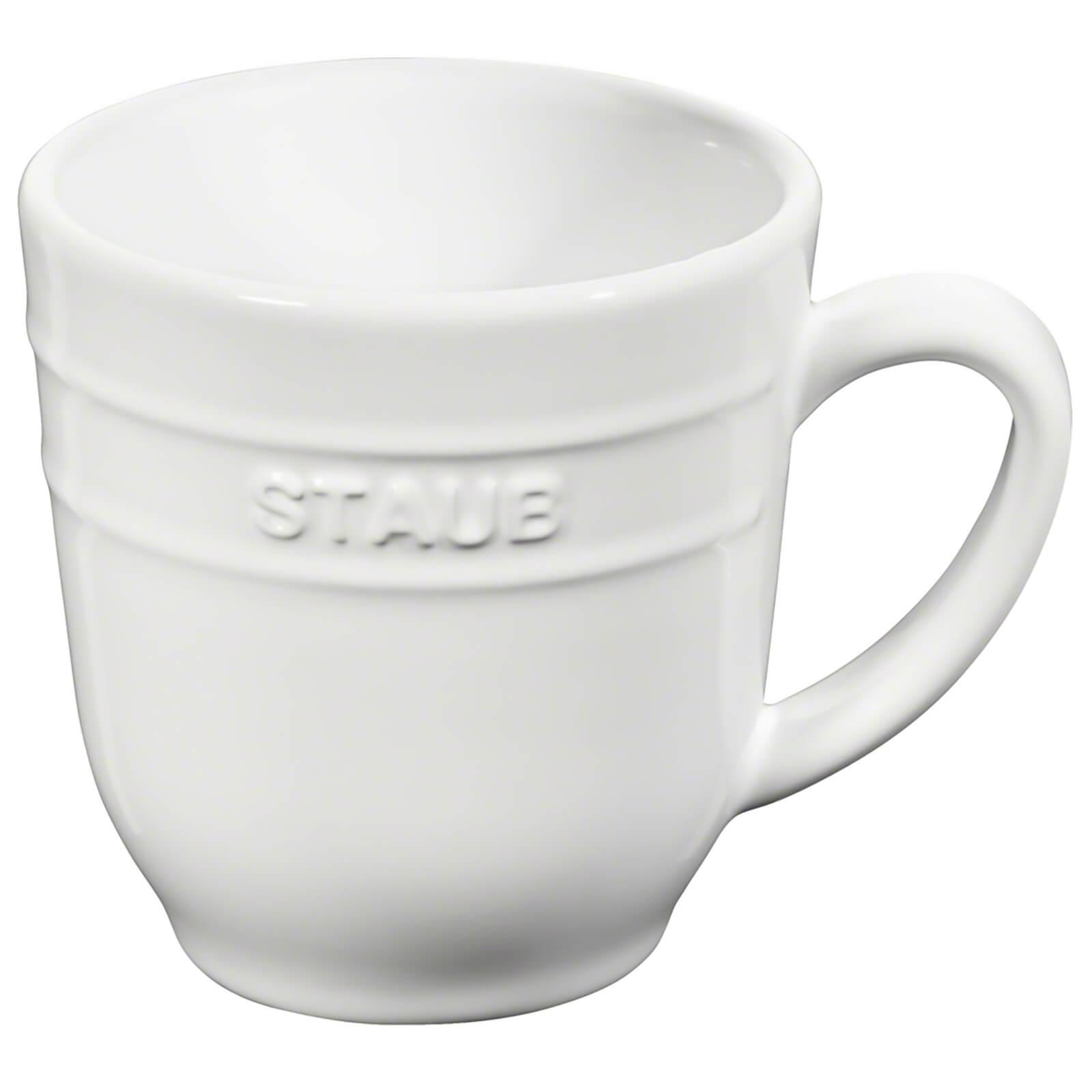 Staub Ceramic Round Mug 350ml - White
