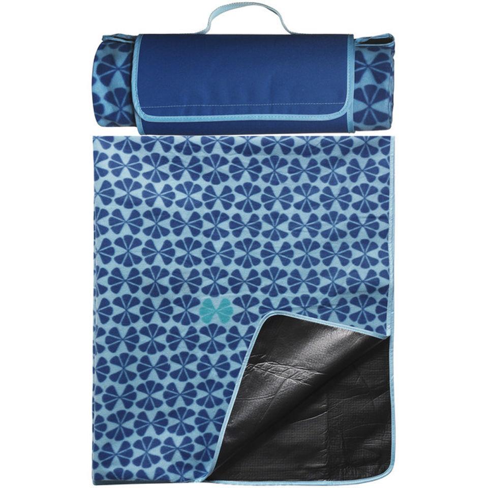 Sagaform Happy Picnic Blanket - Blue