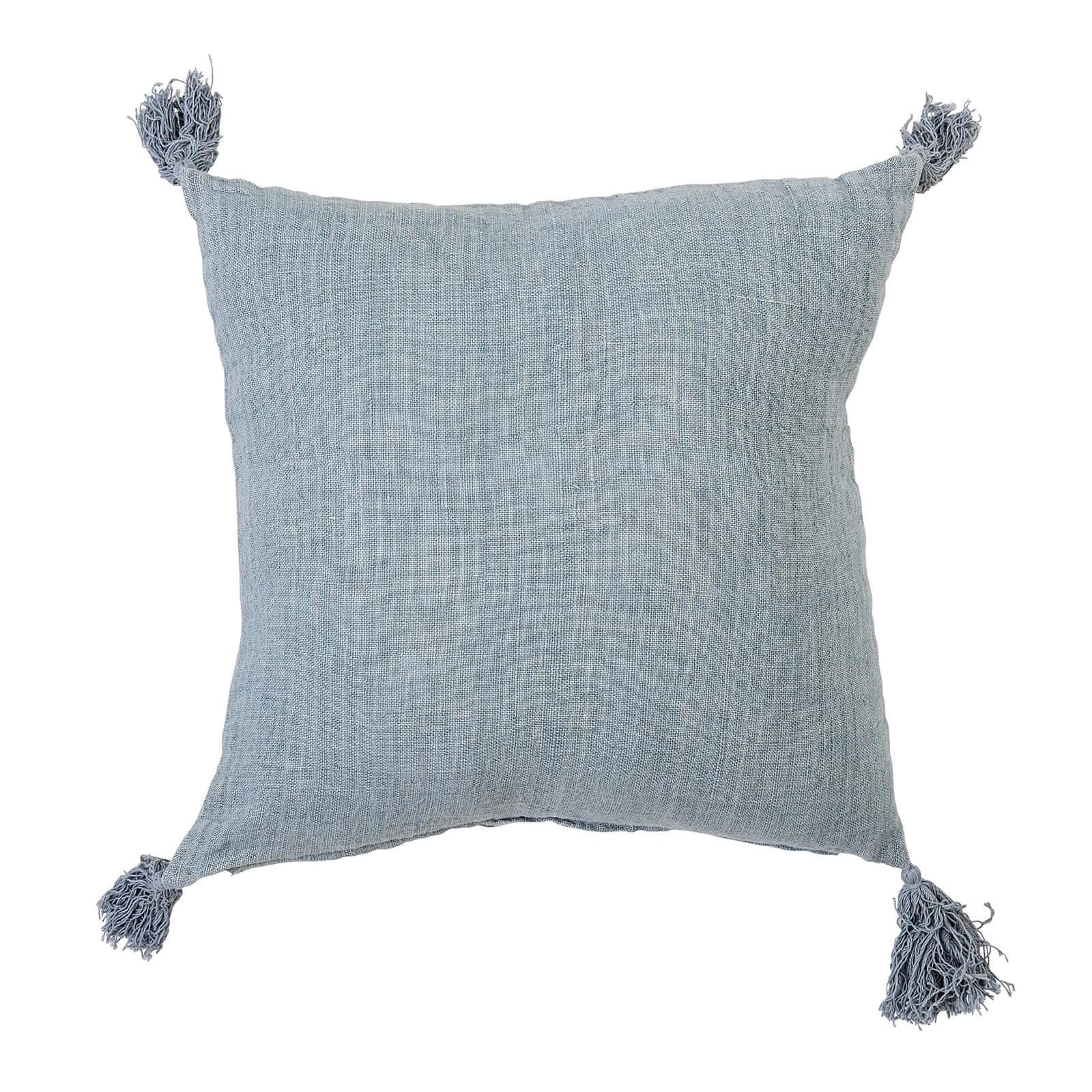 Bloomingville Linen Cushion - Green