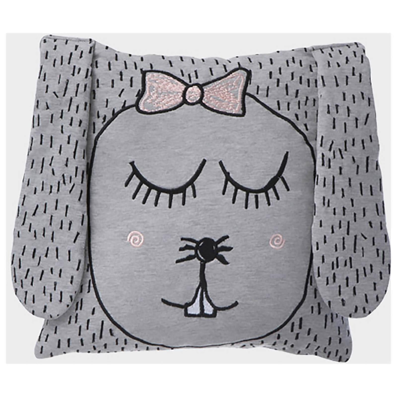 Ferm Living Little Ms. Rabbit Jersey Cushion