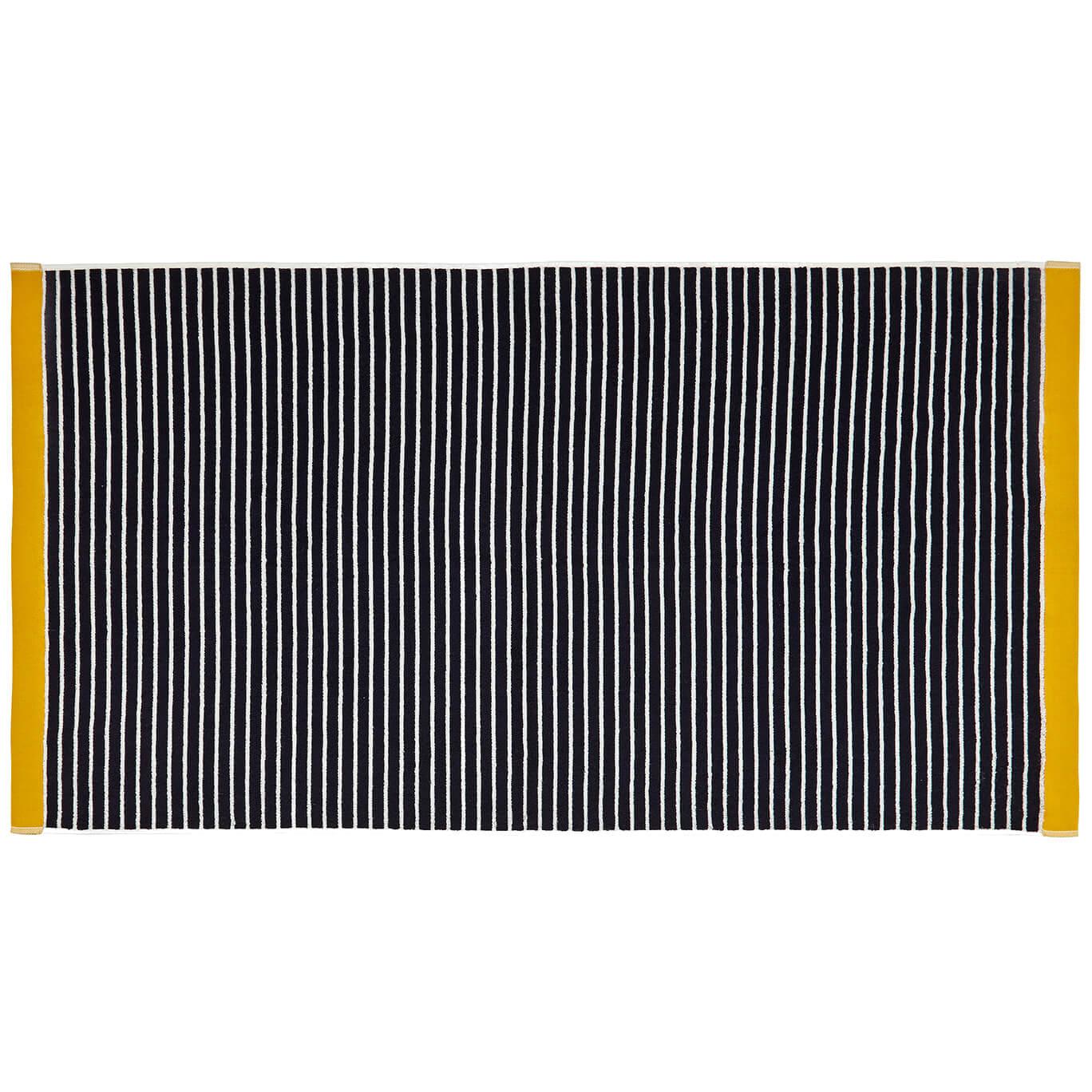 Joules Kensington Stripe Towels - Navy - Hand Towel