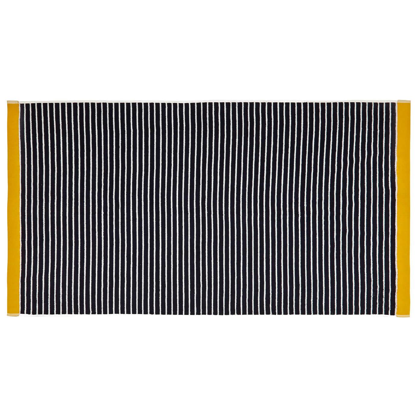 Joules Kensington Stripe Towels - Navy - Bath Towel