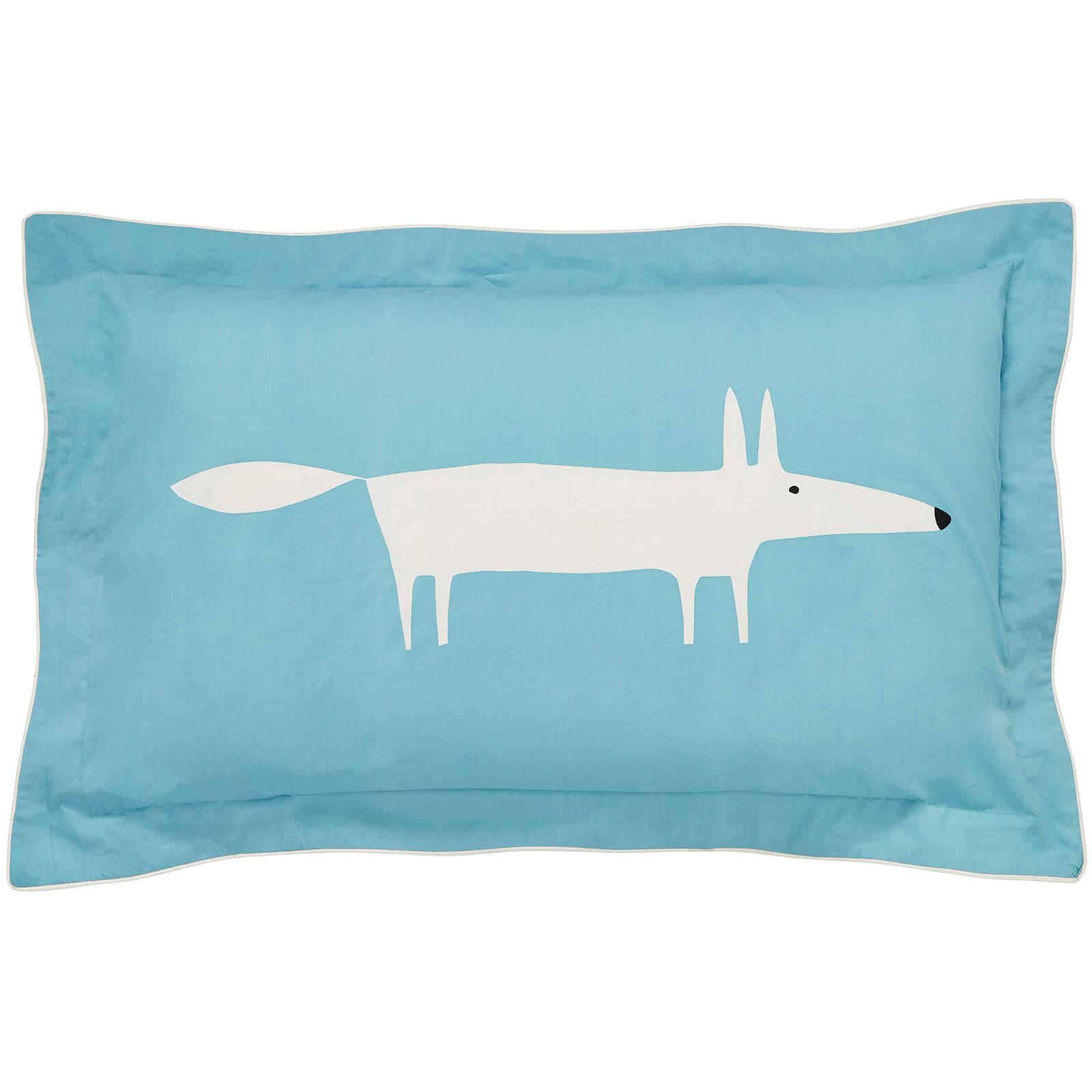 Scion Mr. Fox Cushion - Teal