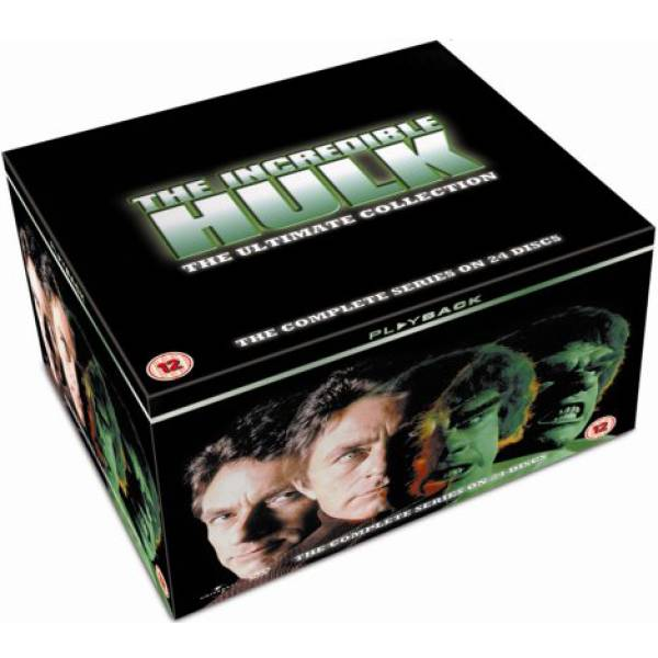 Universal Pictures The Incredible Hulk - Complete Series 1 - 5 [24DVD]