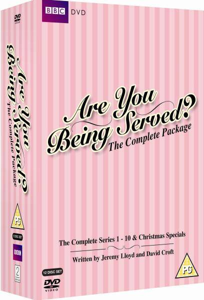 BBC Are You Being Served - Complete Box Set