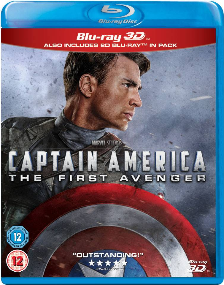 Disney Captain America: The First Avenger 3D (Includes 2D Version)