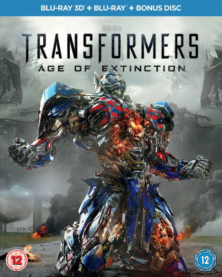 Paramount Transformers 4: Age of Extinction 3D