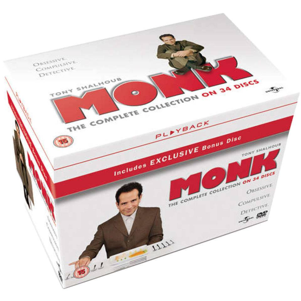 Universal Pictures Monk - The Complete Collection