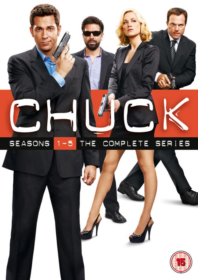Warner Home Video Chuck - Seasons 1-5