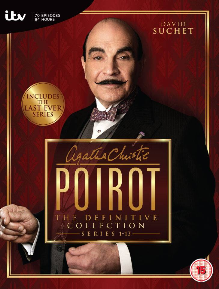 ITV Home Entertainment Poirot - Complete Series 1-13 Collection