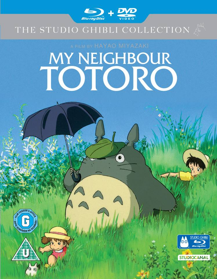 Studio Ghibli My Neighbour Totoro - Double Play (Blu-Ray and DVD)