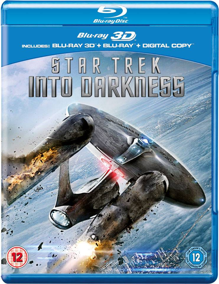 Paramount Home Entertainment Star Trek: Into Darkness 3D (Includes 2D Version and Digital Copy)