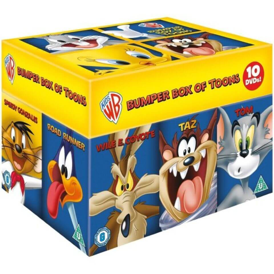 Warner Home Video Looney Tunes Box Set - Big Face Edition