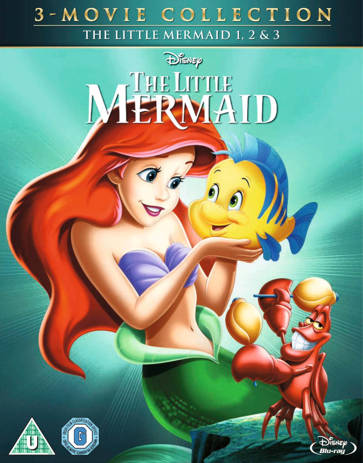 Disney The Little Mermaid 1-3