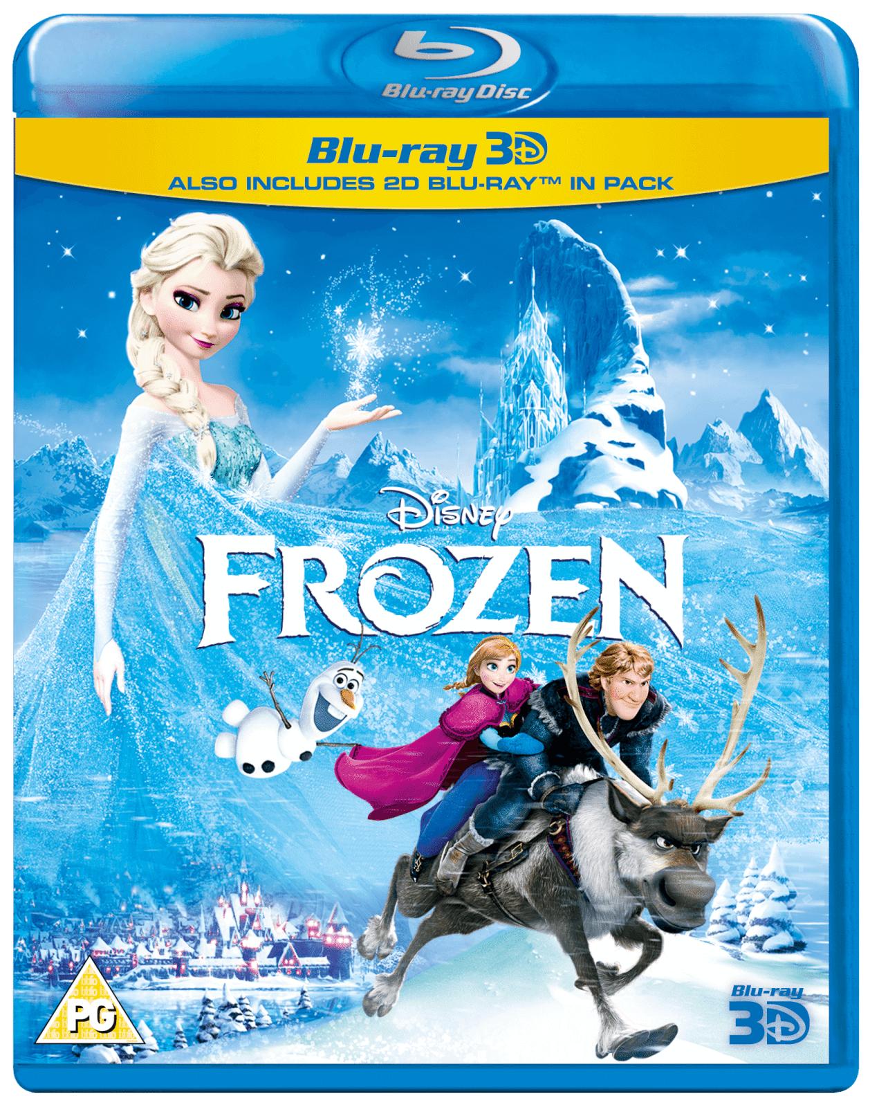 Disney Frozen 3D (Includes 2D Version)
