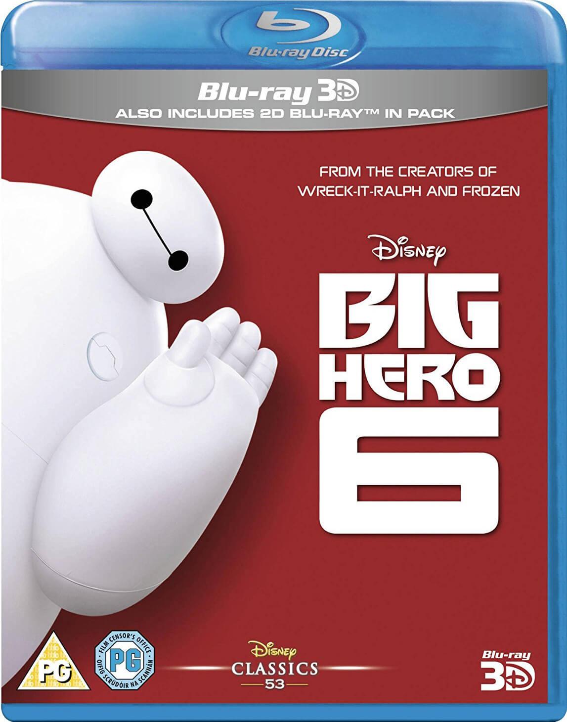 Disney Big Hero 6 3D (Includes 2D Version)