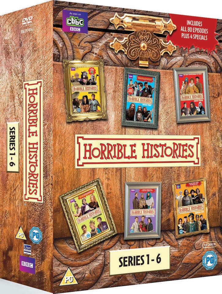 BBC Horrible Histories Box Set - Series 1 - 6 & Specials