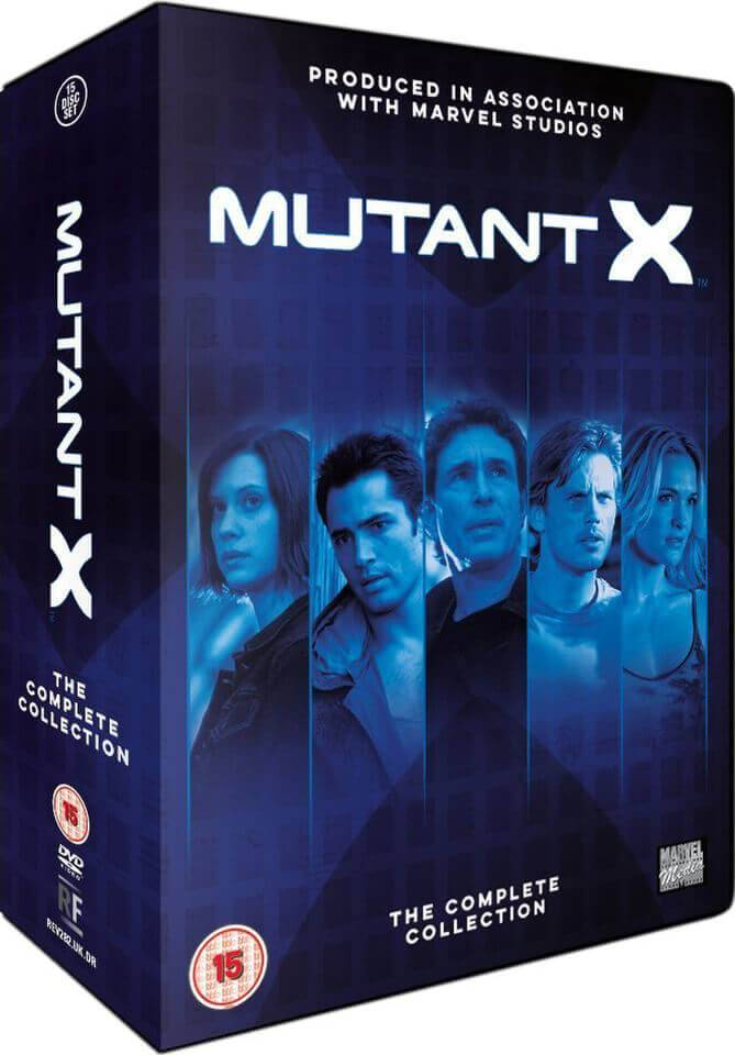 Revelation Films Mutant X - The Complete Collection