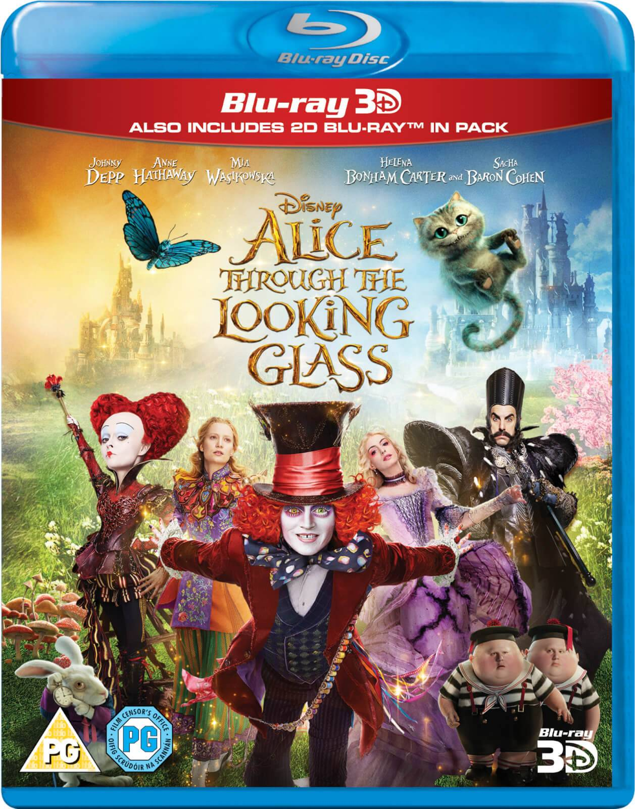 Disney Alice Through The Looking Glass 3D (Includes 2D Version)