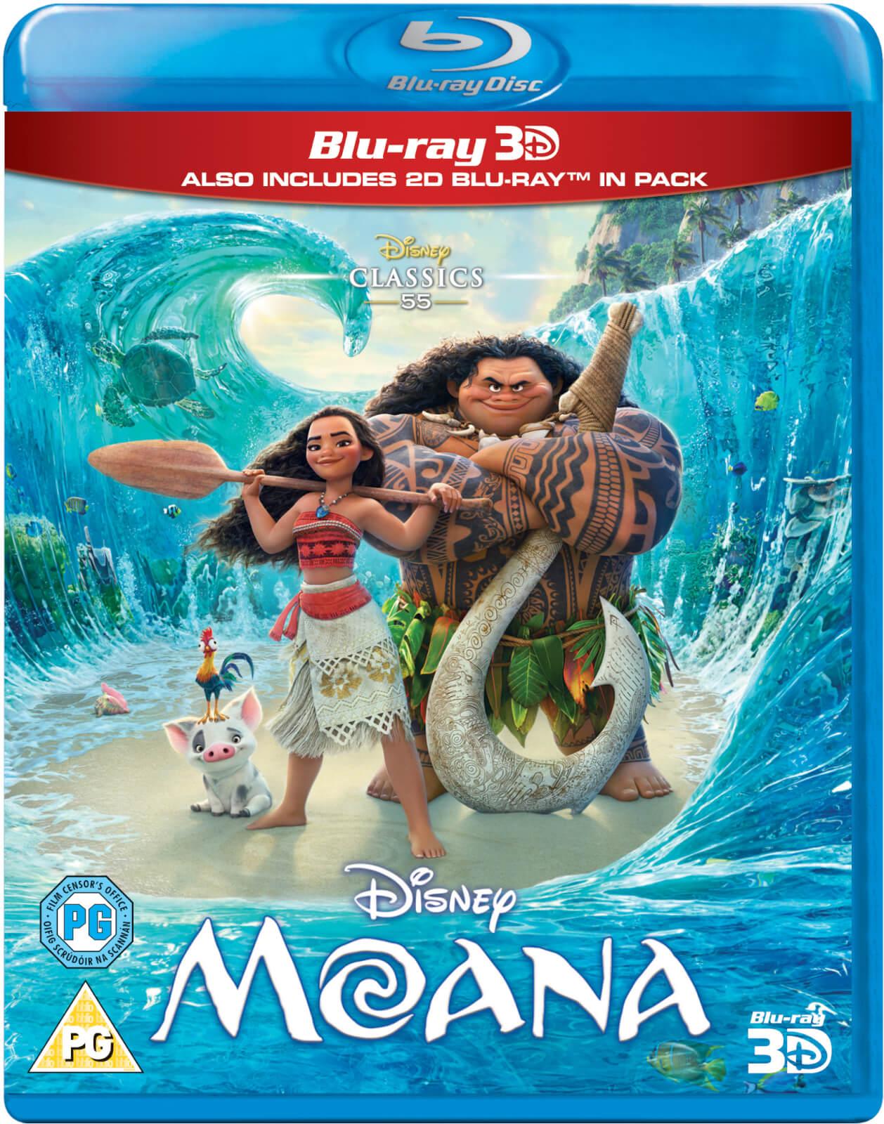 Disney Moana 3D (Includes 2D Version)
