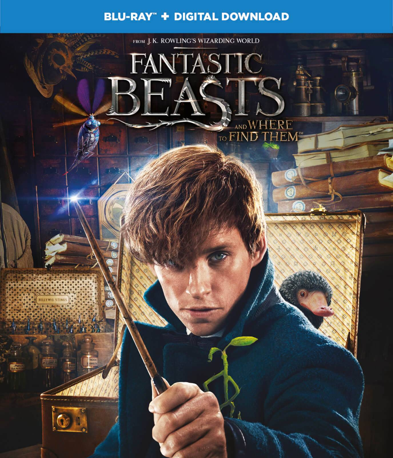 Warner Home Video Fantastic Beasts and Where To Find Them